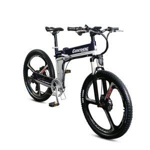 GTYW Electric Folding Bicycle Mountain Bicycle
