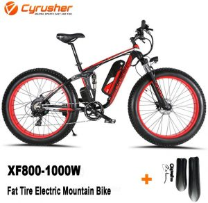 Cyrusher fat tire electric bike 1000w