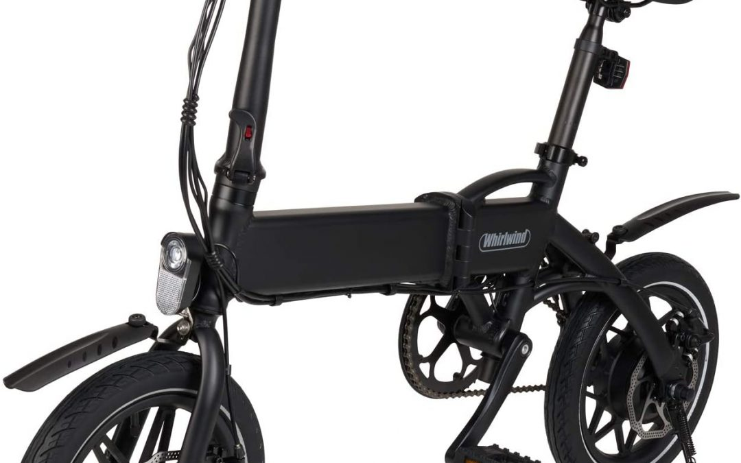 Whirlwind C4 Foldable And Lightweight Electric Bike