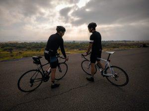 two road bikes